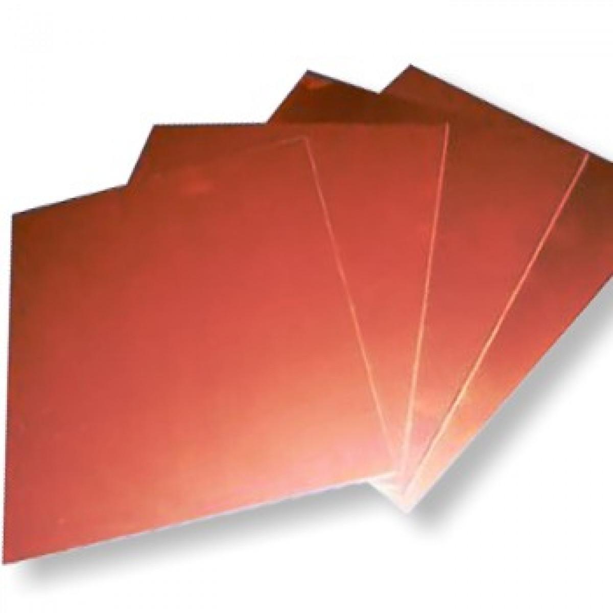 Placa de cobre para gravura 15x15cm for Placas para pared