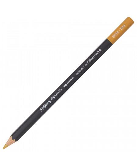 Lápis Aquarelado Caran D'Ache Museum 034 Yellow Ochre