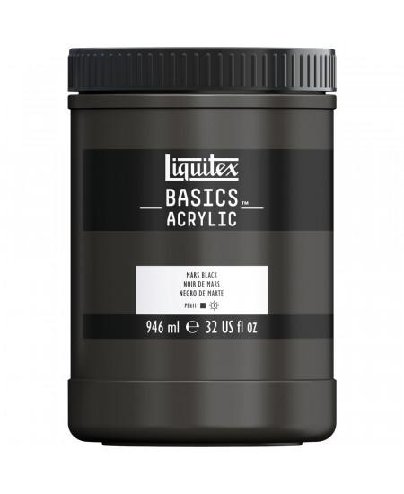 Tinta Acrílica Liquitex Basics 946ml 276 Mars Black