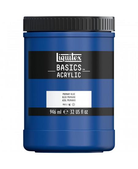 Tinta Acrílica Liquitex Basics 946ml 420 Primary Blue