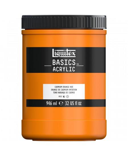 Tinta Acrílica Liquitex Basics 946ml 720 Cadmium Orange