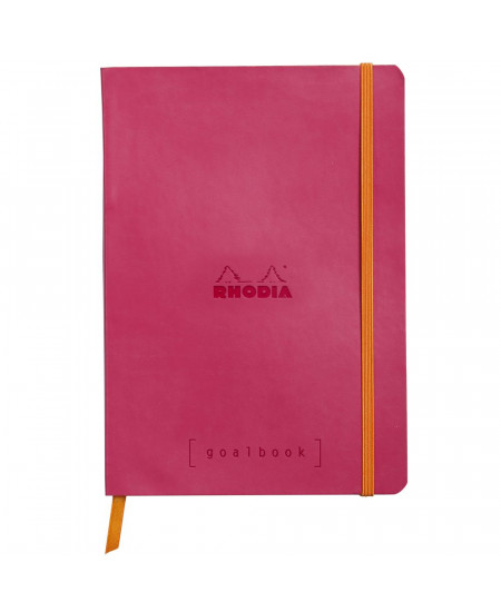 Caderno Goalbook Rhodia Raspberry