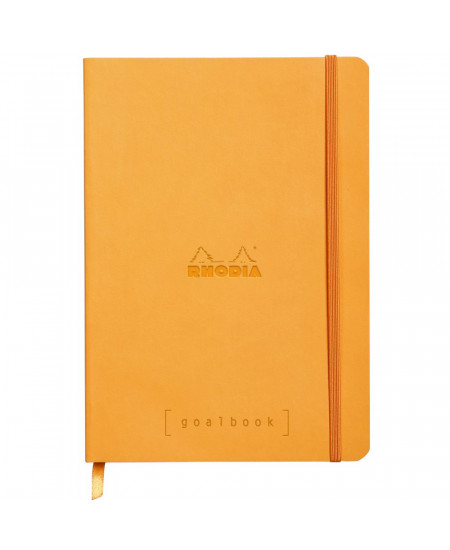 Caderno Goalbook Rhodia Orange