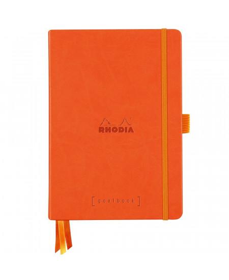 Caderno Goalbook Rhodia A5 Capa Dura Tangerine
