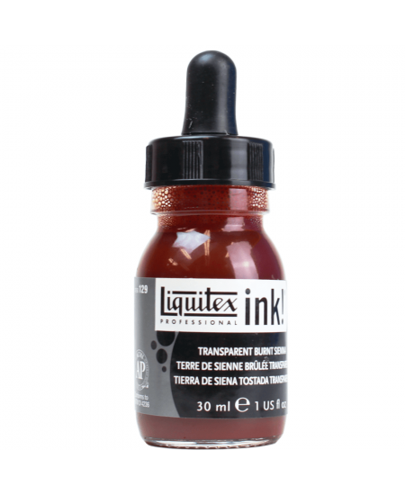 Tinta Acrílica Líquida Liquitex 30ml Transparent Burnt Sienna 129