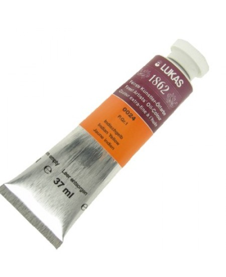 Tinta a Óleo Lukas 1862 37ml 0024 - Indian Yellow G.1