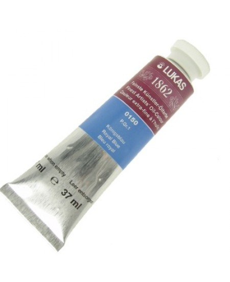 Tinta a Óleo Lukas 1862 37ml 0150 - Royal Blue G.1