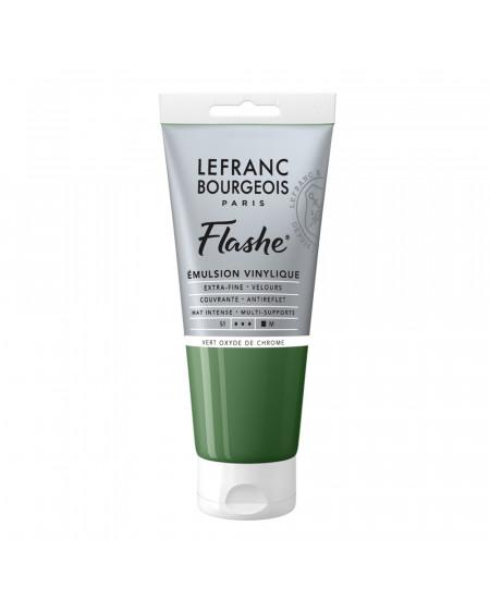 Tinta Acrílica Flashe Lefranc & Bourgeois 80ml S1 542 Chromium Oxide Green