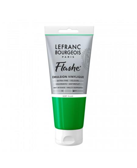 Tinta Acrílica Flashe Lefranc & Bourgeois 80ml S3 565 Fluorescent Green