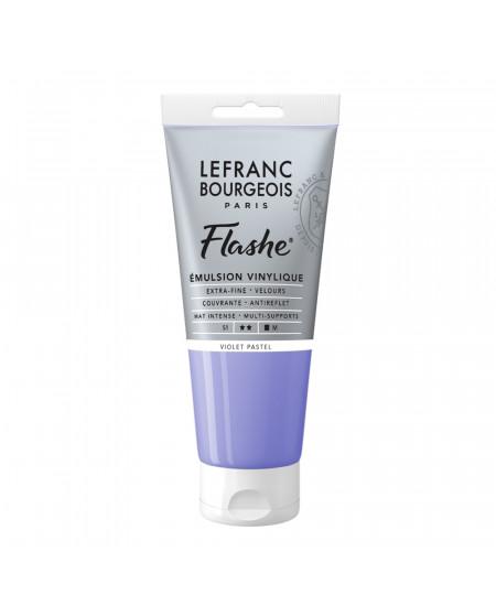 Tinta Acrílica Flashe Lefranc & Bourgeois 80ml S1 785 Pastel Violet