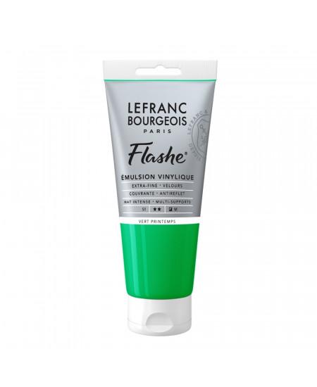 Tinta Acrílica Flashe Lefranc & Bourgeois 80ml S1 544 Spring Green