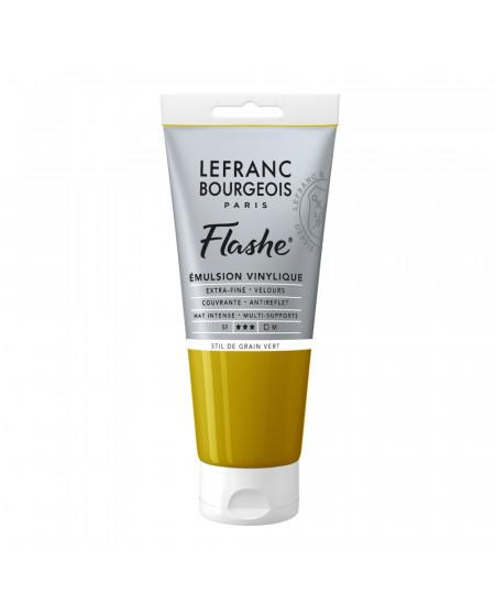 Tinta Acrílica Flashe Lefranc & Bourgeois 80ml S1 730 Stil de Grain Green