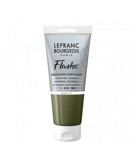Tinta Acrílica Flashe Lefranc & Bourgeois 80ml S1 500 Verdaccio