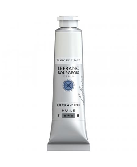 Tinta Óleo Extra Fine Lefranc&Bourgeois 40ml 008 Titanium White