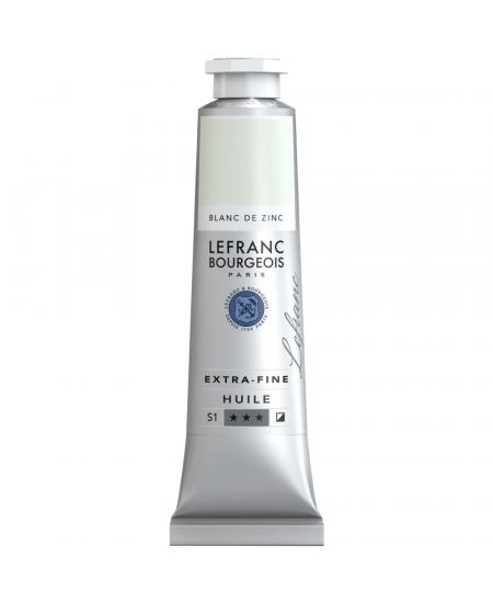 Tinta Óleo Extra Fine Lefranc & Bourgeois 40ml 009 Zinc White