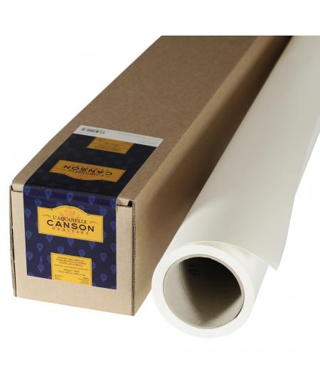 Rolo de Papel Para Aquarela Heritage TF Canson 300g/m² 1,52x4,57