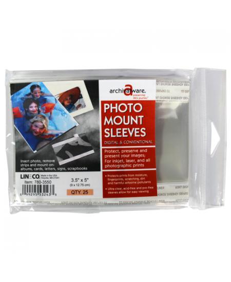 Porta Fotos Transparente  9x12,75cm Lineco 780-3550
