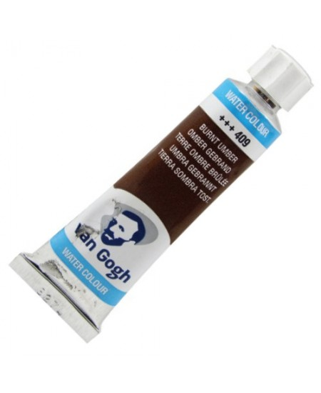 Aquarela Van Gogh Bisnaga 10 ml 409 Burnt Umber
