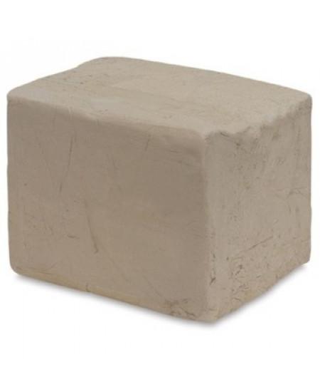 Argila Para Escultura e Artesanato Branca Chamote Médio 10 Kg