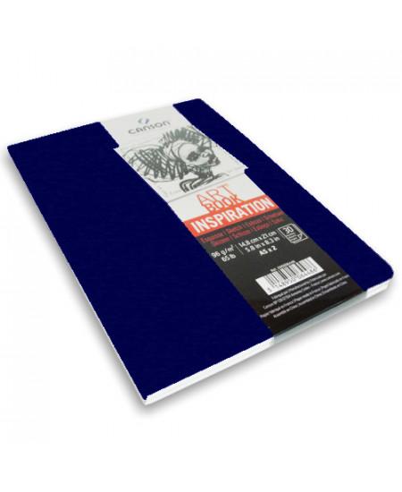 Caderno Para Sketch ART BOOK Inspiration Canson A5x2 Azul