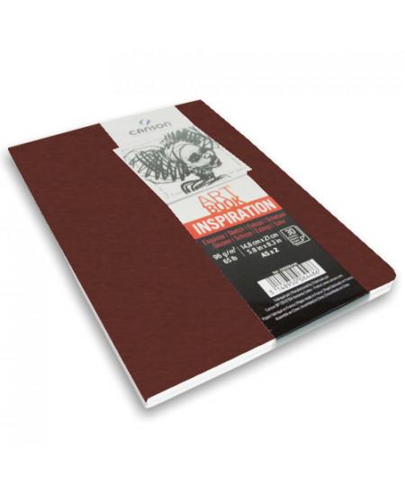 Caderno Para Sketch ART BOOK Inspiration Canson A5x2 Terracota
