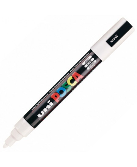 Caneta Posca Uni Ball PC-5M Branca