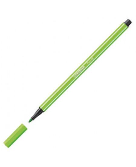 Caneta Stabilo Pen 68 33 Verde Maçã