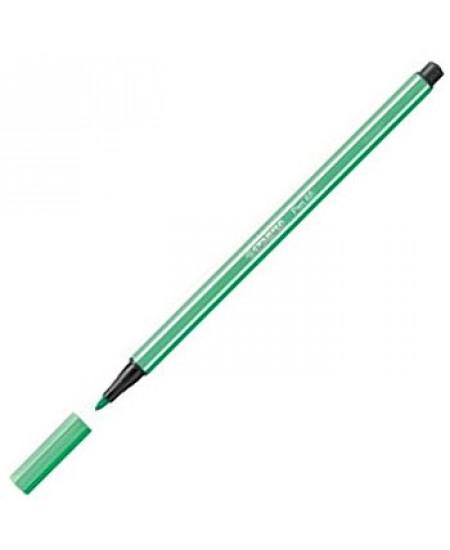 Caneta Stabilo Pen 68 13 Verde Água