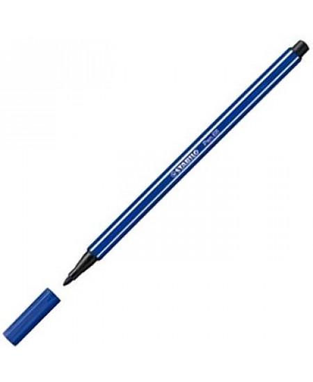Caneta Stabilo Pen 68 32 Azul Escuro