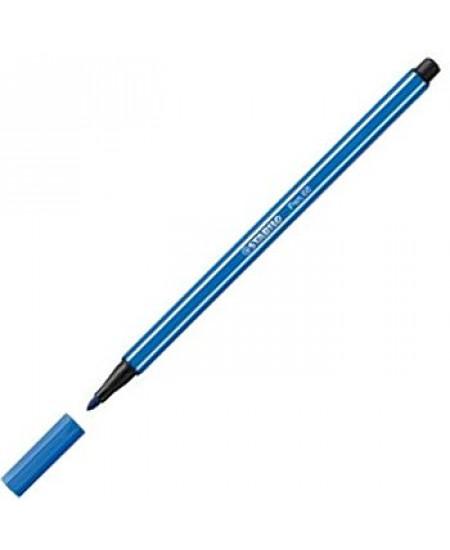 Caneta Stabilo Pen 68 41 Azul