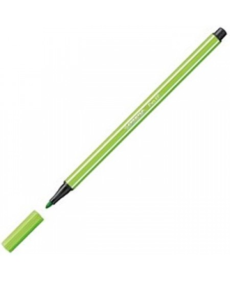 Caneta Stabilo Pen 68 43 Verde Folha