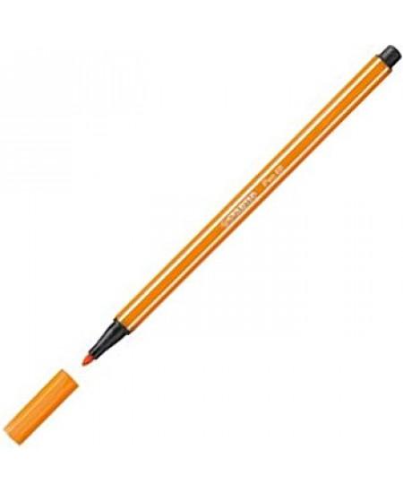 Caneta Stabilo Pen 68 54 Amarelo Escuro