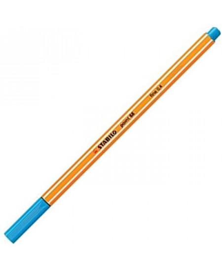 Caneta Point 88 Stabilo 0.4mm 57 Azul Claro