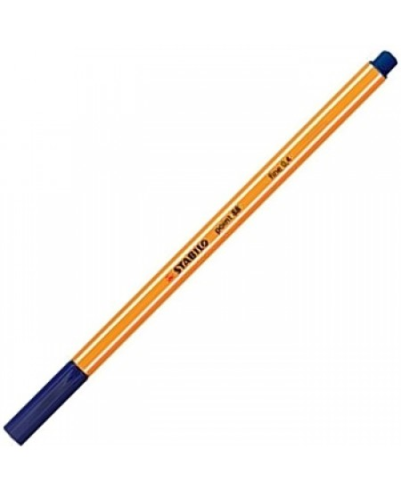 Caneta Point 88 Stabilo 0.4mm 41 Azul Escuro
