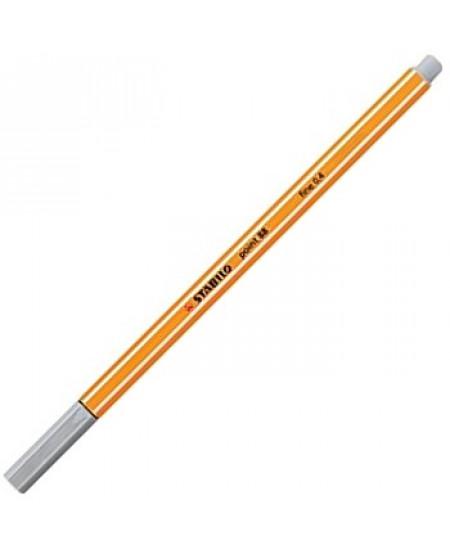 Caneta Point 88 Stabilo 0.4mm 94 Cinza Claro