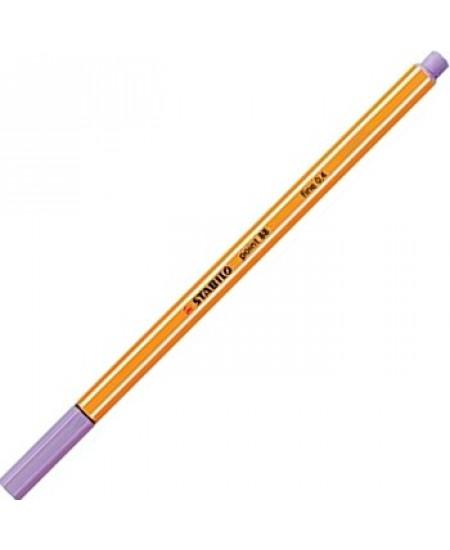 Caneta Point 88 Stabilo 0.4mm 59 Lilás Claro