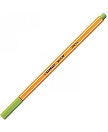 Caneta Point 88 Stabilo 0.4mm 43 Verde Folha