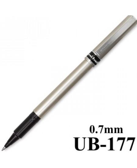 Caneta Fine Deluxe Uni-Ball 0.7mm Preto UB-177