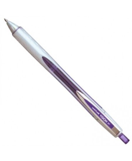 Caneta Vision Elite RT 0.8mm Uni-Ball Violeta