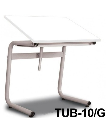 Mesa Para Desenho Tub 10/G 100x80cm BP-100 Trident