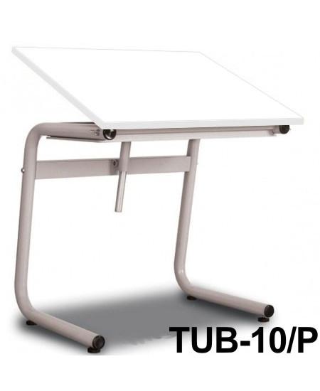 Mesa Para Desenho Tub 10/P 80x60cm BP-80 Trident