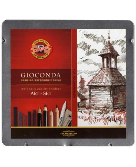 Estojo de desenho Gioconda Art Set 8899
