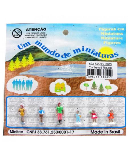 Figuras Para Maquetes 1/100 623 Minitec 06 Peças