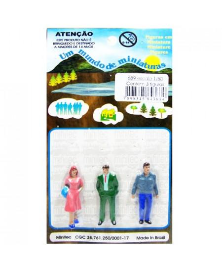 Figuras Para Maquetes 1/50 689 Minitec 03 Peças