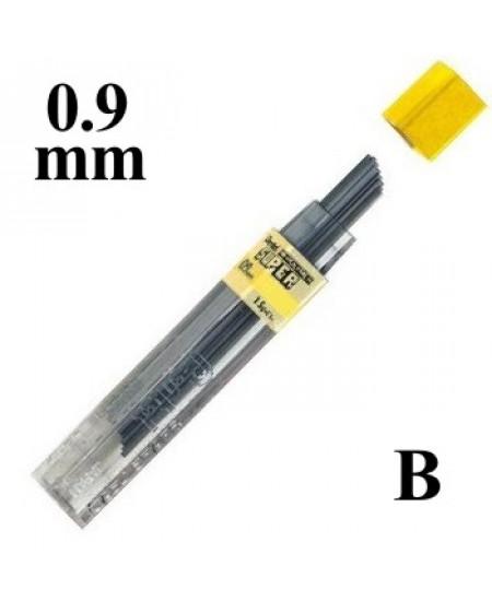 Mina Grafite Pentel 0.9mm B