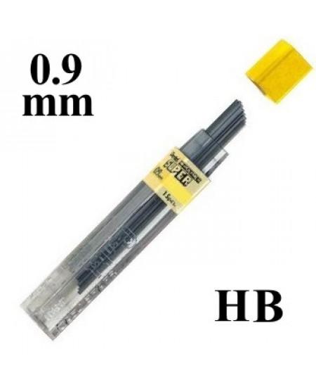 Mina Grafite Pentel 0.9mm HB