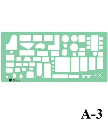 Gabarito Arquitetura A-03 Móveis Trident