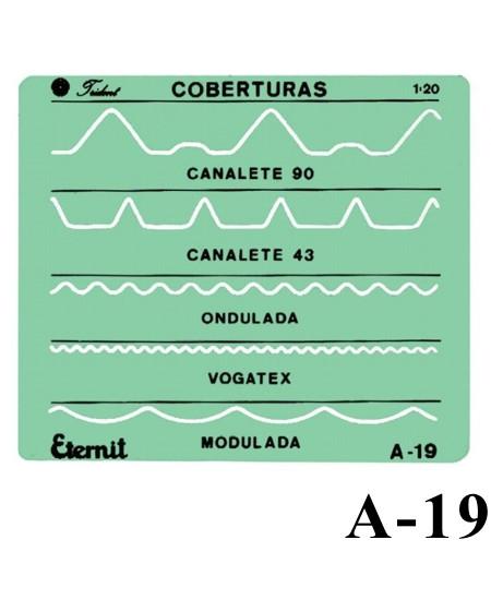 Gabarito Arquitetura A-19 Coberturas Eternit Trident
