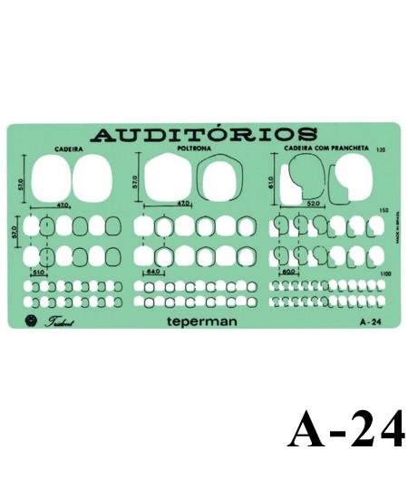 Gabarito Arquitetura A-24 Auditórios Trident