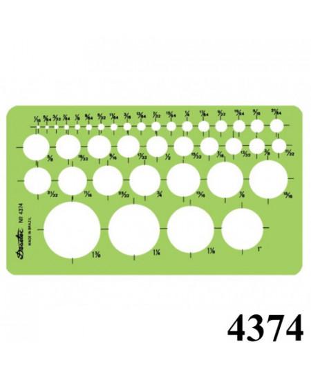 Gabarito Desetec 4374 Desenho Circulos Pol.
